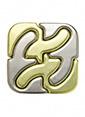 Eureka Eureka Cast Puzzle Square Renkli